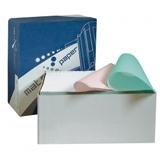 Hartie imprimanta matriciala A3  56/55 g/mp alb roz verde 750 seturi/cutie Euro Listing
