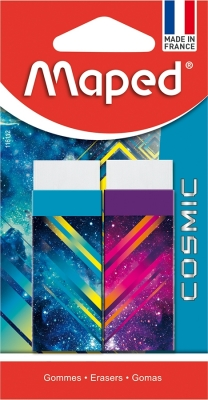 Radiera Cosmic Teens 2 buc/blister Maped