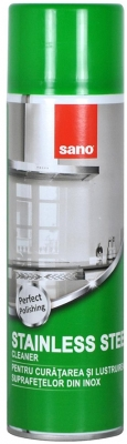 Solutie spray curatare inox, 500 ml, Sano