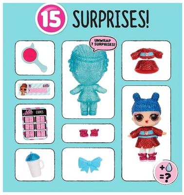 papusa surprise, bambole under wraps seria 4-2 eye spy lol - bnb