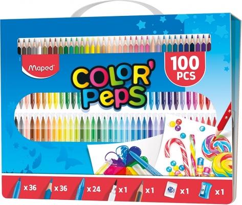 Set coloriaj 100 piese Maped