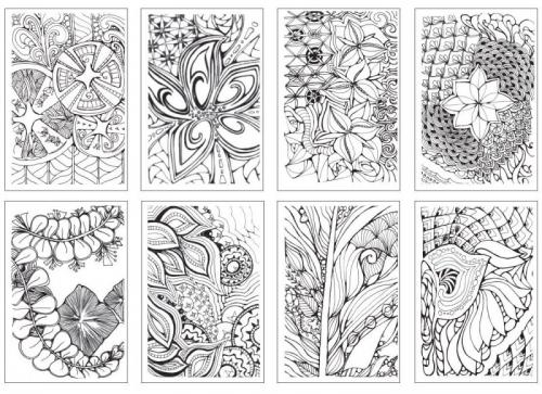 Carte De Colorat Zen Chameleon Bnb