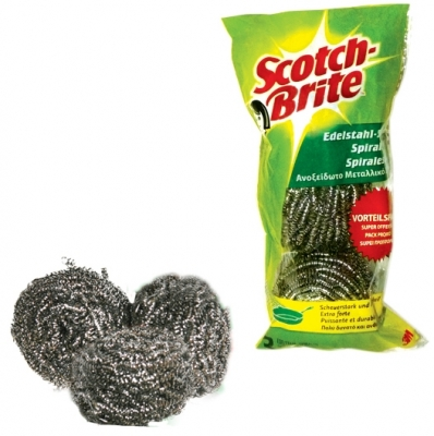 Spira metalica 3/set Scotch-Brite