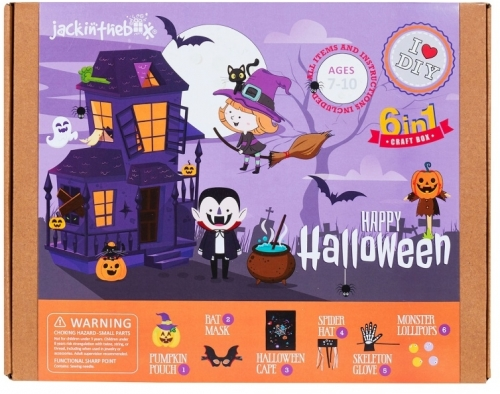 Kit Creatie 6In1 Halloween Fericit Jack In The Box