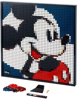 Mickey Mouse 31202 LEGO Art
