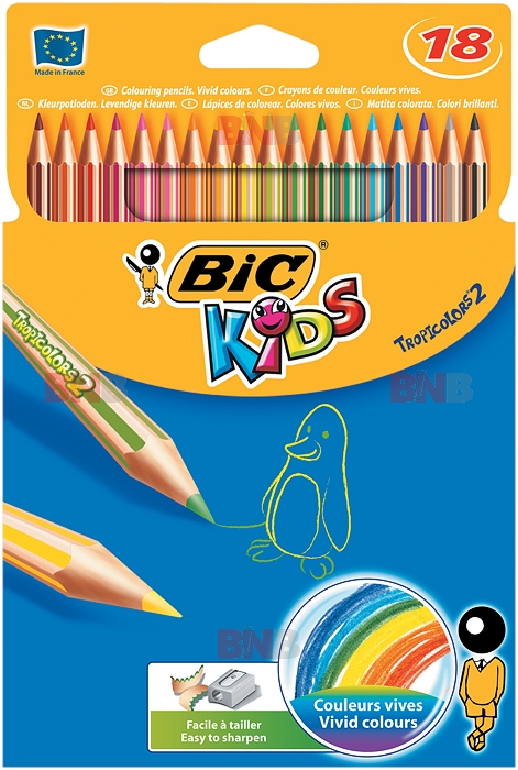 Image result for CREIOANE COLORATE BIC TROPICOLORS2 18
