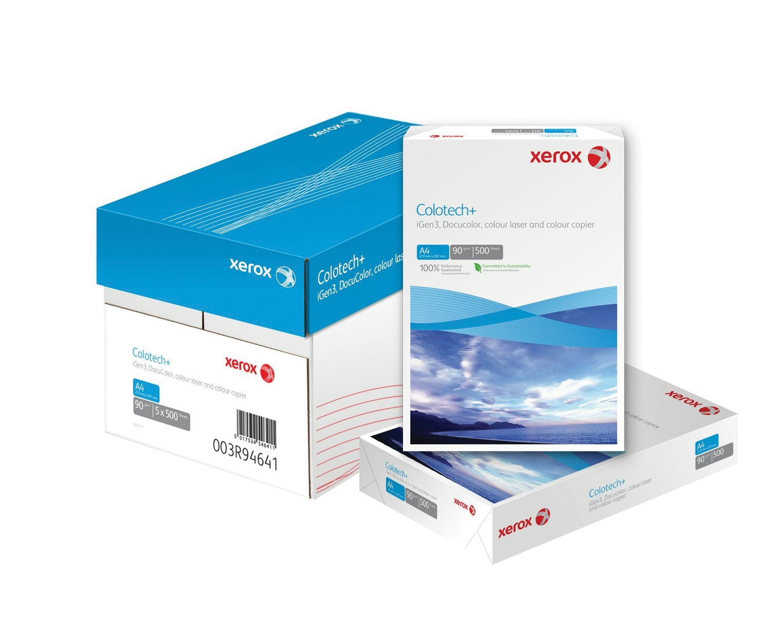 Hartie Colotech+ Xerox A3 90 g/mp 500 coli/top