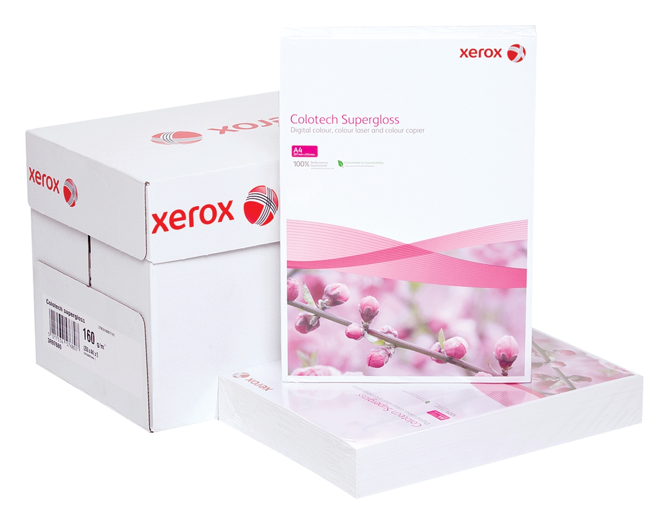 Hartie Colotech+ Lucios Xerox A3 140 g/mp 250 coli/top