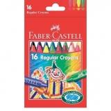 Creioane cerate 16 culori Clown Faber-Castell