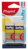 Radiera Softly, 2 buc/set, Maped