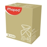Agrafa tip fluture 30 x 40 mm 100/set Maped