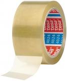 Banda adeziva ambalare, transparenta, 66 m x 50 mm Tesa