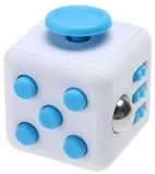 Jucarie antistres Fidget Cub, culoare alb/bleu