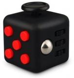 Jucarie antistres Fidget Cub, culoare negru/rosu