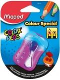 Ascutitoare dubla, in blister, diverse modele, Color Peps Maped