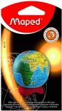 Ascutitoare simpla, cu rezervor, pe blister, Globe Maped