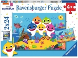 Puzzle Baby Shark, 2X24 Piese Ravensburger