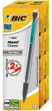 Cutie creion mecanic 12 bucati  0.7 mm Matic Classic Bic