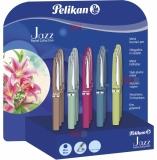 Pix metalic Jazz Pastel Collection display 15 bucati + 15 cutii cadou Pelikan