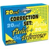 Set diluant + fluid corector Centrum