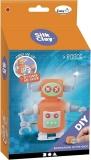 Kit constructie orange lut robot 110 g Silk Clay