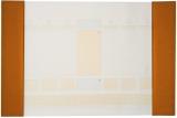 Mapa de birou, culoare orange, 70 file, Alicante