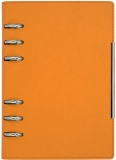 Agenda organizator B6, orange, 230 file, Alicante