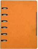 Organizer A6, culoare orange, 190 file, Alicante