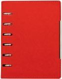 Organizer A6, culoare rosu, 190 file, Alicante