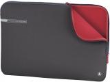 Husa laptop Neoprene, 11.6 inch, gri-rosu Hama