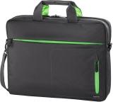 Geanta laptop Marseille, 15.6 inch, gri/verde Hama