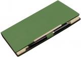 Agenda de lux A5, culoare verde inchis, 244 file, Alicante