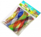 Jucarie antistres Marbel and Mesh, multicolora, 4 buc/set