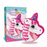 Set creatie perna pentru copii Dream Kids, model Unicorn