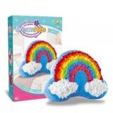 Set creatie perna pentru copii Dream Kids, model Curcubeu