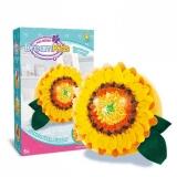 Set creatie perna pentru copii Dream Kids, model Floarea Soarelui