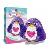 Set creatie perna pentru copii Dream Kids, model Pinguin