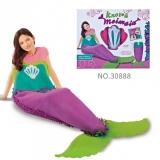 Set de creatie DIY tesut si tricotat Sirena