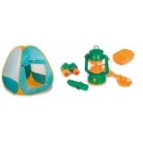 Set camping pentru copii cu jucarii incluse