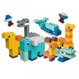 Set educativ piese pentru construit, 134 piese, Animal Series