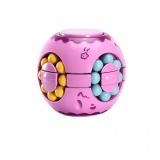 Jucarie antistres senzoriala Cub magic interactiv, Magic Bean, Sfera, culoare roz