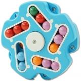 Jucarie antistres senzoriala Spinner magic interactiv, Magic Bean, Stea, culoare albastru