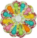 Jucarie senzoriala antistres, Simple Dimple, multicolor, Model 1