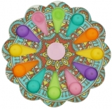 Jucarie senzoriala antistres, Simple Dimple, multicolor, Model 3