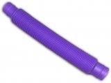 Jucarie senzoriala antistres Fidget Pop Tubes Super Elastic, culoare mov
