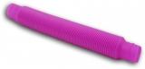 Jucarie senzoriala antistres Fidget Pop Tubes Super Elastic, culoare roz