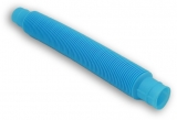 Jucarie senzoriala antistres Fidget Pop Tubes Super Elastic, culoare albastru