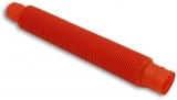 Jucarie senzoriala antistres Fidget Pop Tubes Super Elastic, culoare rosu