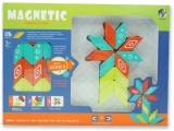 Set inteligent de constructie cu piese magnetice, 26 piese, multicolor