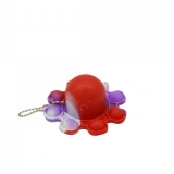 Jucarie senzoriala antistres Pop it Now and Flip it, Push Bubble, Caracatita Reversibila, multicolora V2